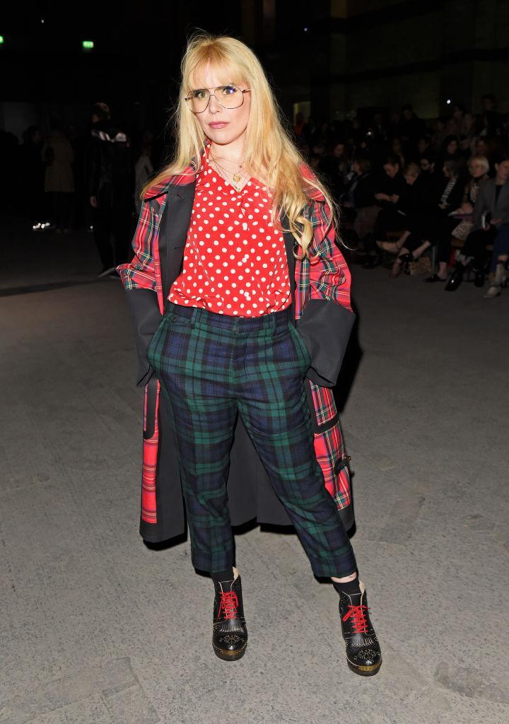 <p>Paloma Faith clashed polka dots and tartan at this season's most talked about show. <em>[Photo: Getty]</em> </p>