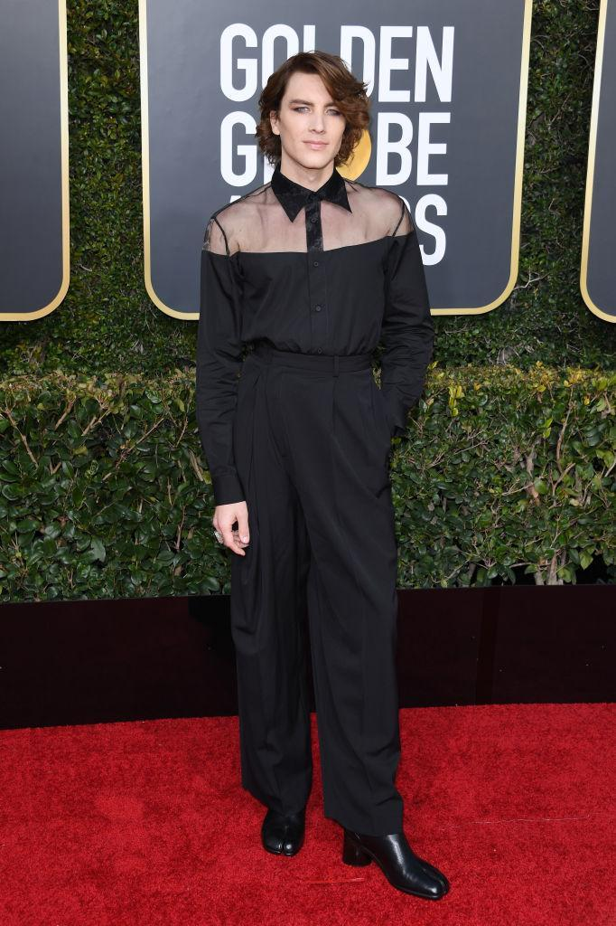 <p>Cody Fern attends the 76th Annual Golden Globe Awards at the Beverly Hilton Hotel in Beverly Hills, Calif., on Jan. 6, 2019. (Photo: Getty Images) </p>