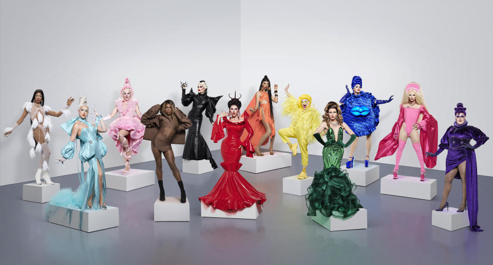 Drag Race UK's second season has hit its mid-way point. (BBC/World of Wonder/Ray Burmiston)