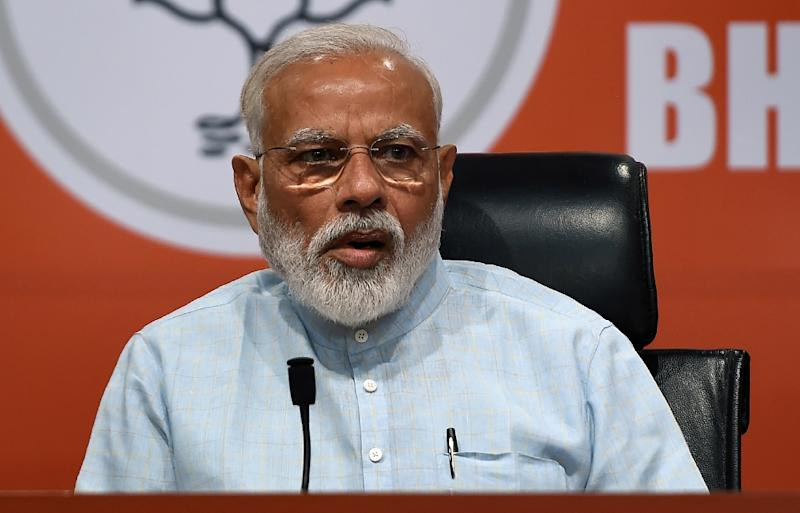 Indian markets welcomed polls indicating Prime Minister Narendra Modi has won a second term