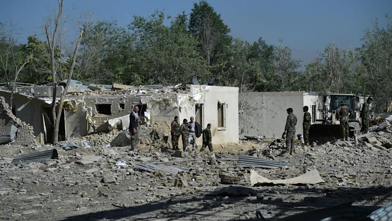 Taliban Bomb Blast Kill at Least 14, Wound 145 in Kabul