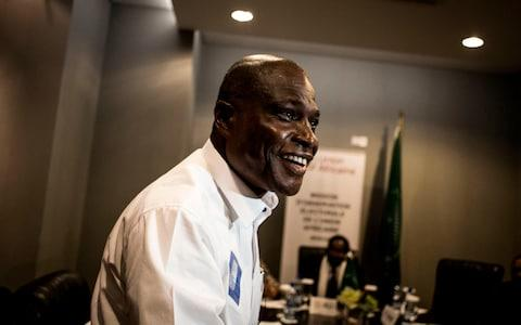 Opposition Candidate Martin Fayulu - Credit: JOHN WESSELS/AFP