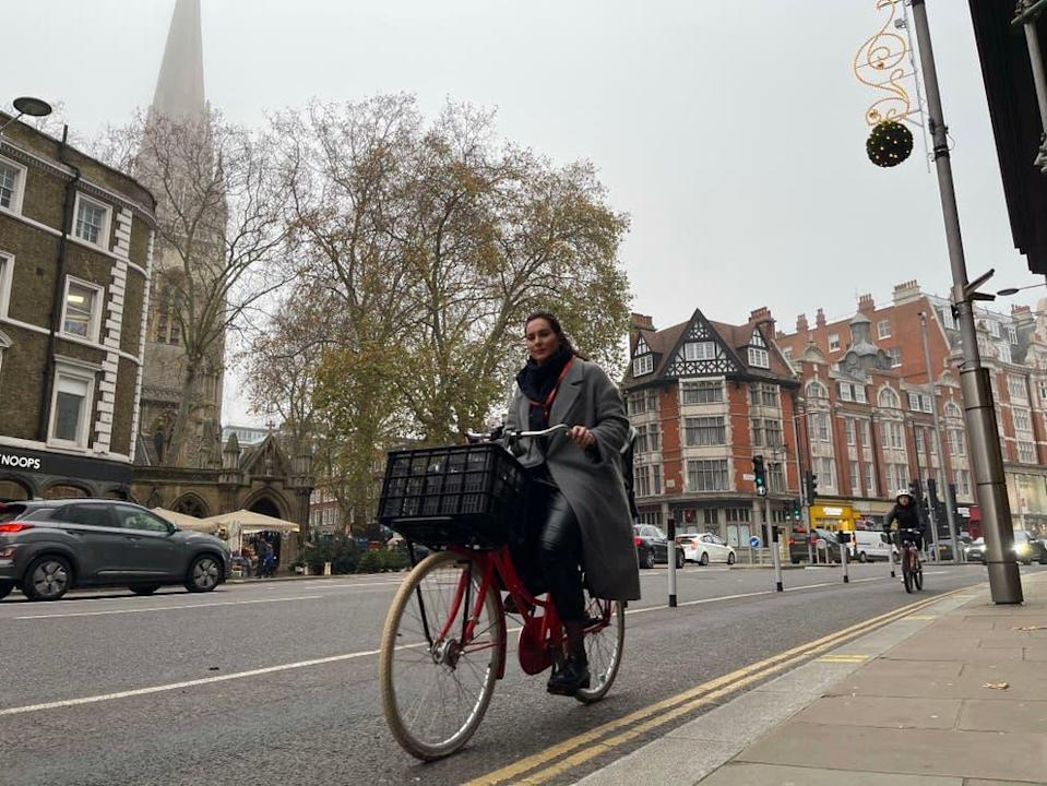 The cycle lanes were removed after seven weeks by the council in DecemberElliot Wagland