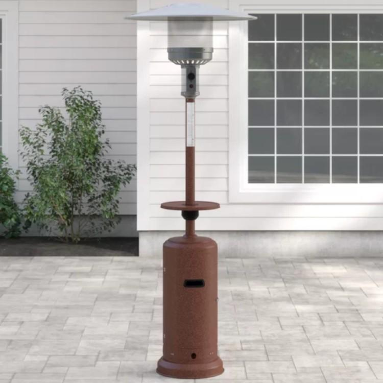 Glendale 48,000 BTU Propane Patio Heater. (Photo: Wayfair)