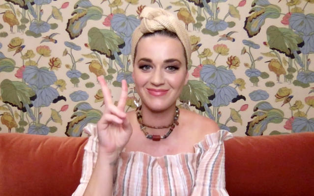 Katy Perry surprised an eight-year-old fan by revealing she was her substitute teacher for the day. (Getty Images/Getty Images for SHEIN)