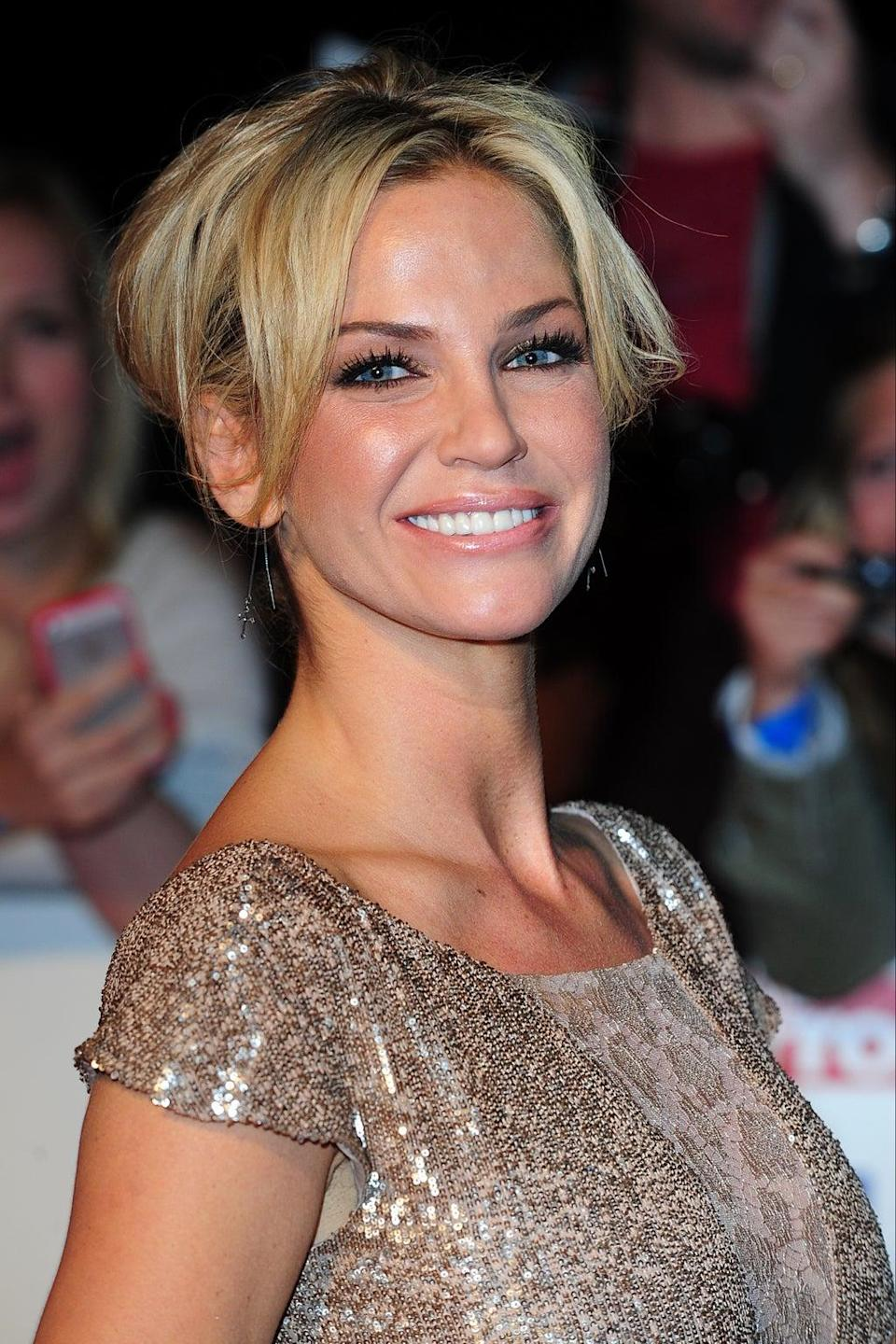 Former Girls Aloud star Sarah Harding has died of breast cancer (Ian West/PA) (PA Wire)