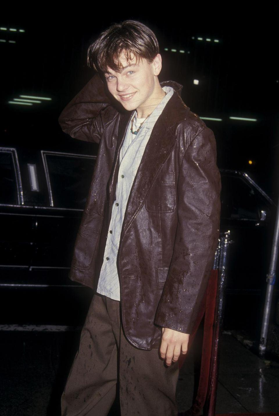 <p>If you were attracted to men and had a pulse in the '90s, there was little to no chance that you weren't into Leo, who starred in both <em>Titanic</em> and <em>Romeo + Juliet</em>. With that angelic face, none of us ever had a chance.</p>