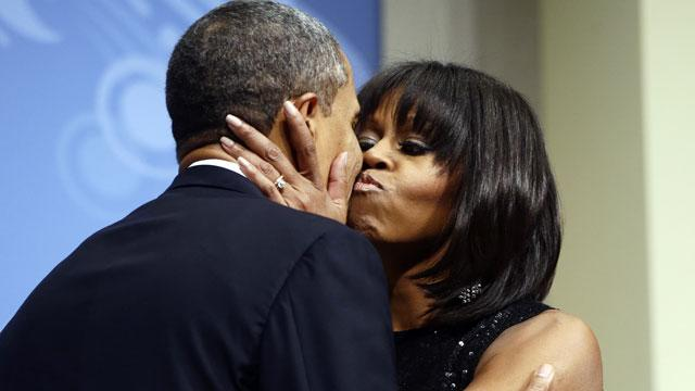 Obama on First Lady's Haircut: 'I Love Her Bangs'