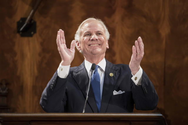 Henry McMaster, the governor of South Carolina, has a request for his constituents. (AP)