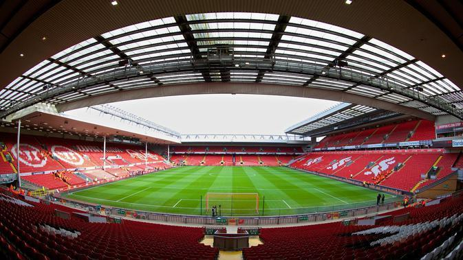 Markas Liverpool, Anfield, Liverpool. (This is Anfield)