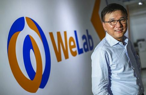 Chan Ka-keung, WeLab chairman and former Secretary for Financial Services and the Treasury. Photo: Nora Tam