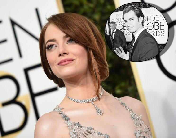 Emma Stone And Andrew Garfield Are Ex Relationship Goals At The Golden Globes