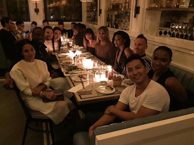 "<p>Prabal Gurung celebrated closing his show at <a href=""http://www.cafeclovernyc.com/"">Cafe Clover</a> with Gabrielle Union, Dwyane Wade, Laverne Cox, and Hannah Bronfman. </p><p><i>Photo: Instagram/<a href=""https://instagram.com/p/7mGTujxvAR/"" title=""prabalgurung"">prabalgurung</a></i><br /></p>"