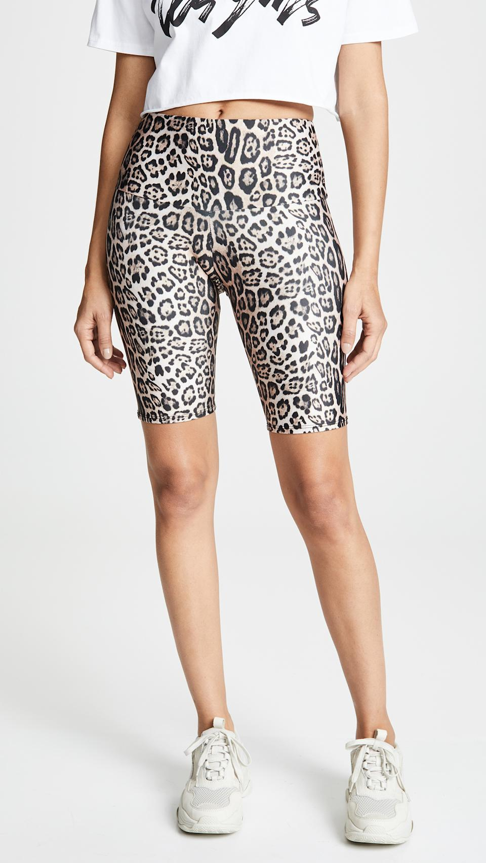 Onzie High Rise Bike Shorts. Image via Shopbop.