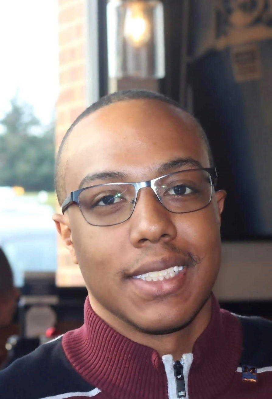 """Hezekiah Lockridge, 21, began investing in late 2020. He says: """"The stock market is the only option to grow your money."""""""
