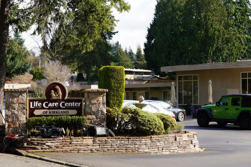 General view of the Life Care Center of Kirkland