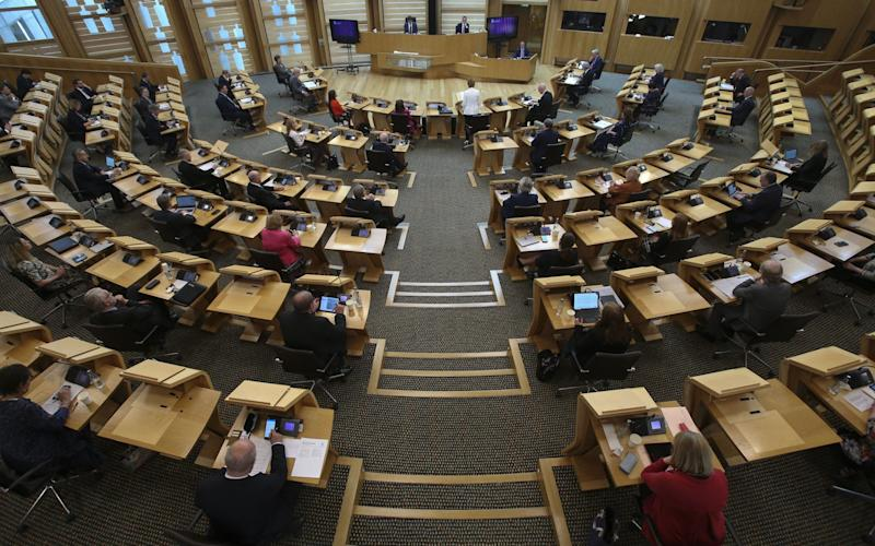 Members of the new party believe by standing on the regional lists they can get more pro-independence MSPs into Holyrood - Getty/Getty