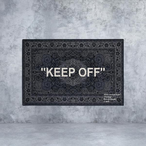Virgil Abloh's Off-White IKEA rug is already being resold for 6 times the retail price online