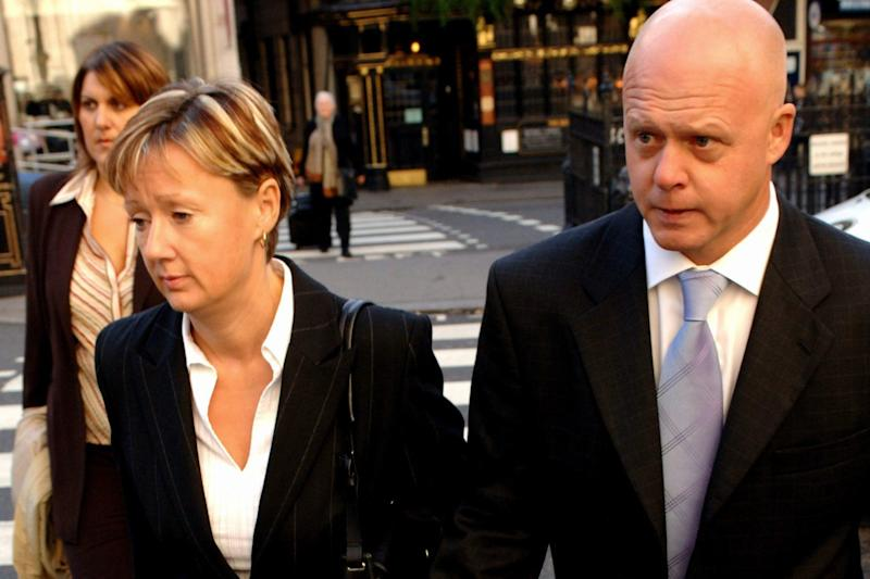 Nicola and Kevin Wells, Holly's parents, arrive at the Royal Courts of Justice in 2005 (Andrew Stuart/PA Archive)