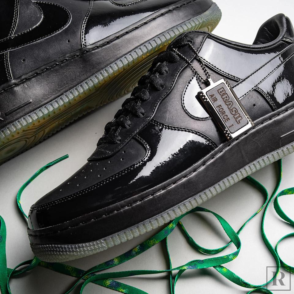 Jay Z Air Force 1 All Black