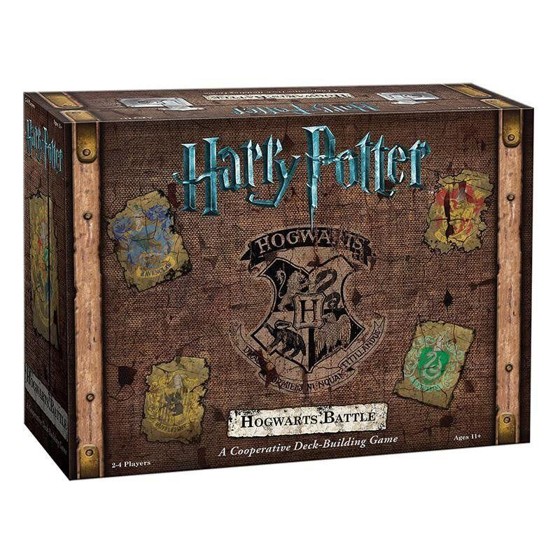 """Defend Hogwarts! Defend your House! Get outta here, Voldemort! Play with your friends, not against them, in the greatest (board game) battle of your life. <a href=""""https://www.curiosasociety.com/collections/harry-potter-games/products/700304047700"""" target=""""_blank"""" rel=""""noopener noreferrer"""">Get it for $50 at Curiosa.</a>"""