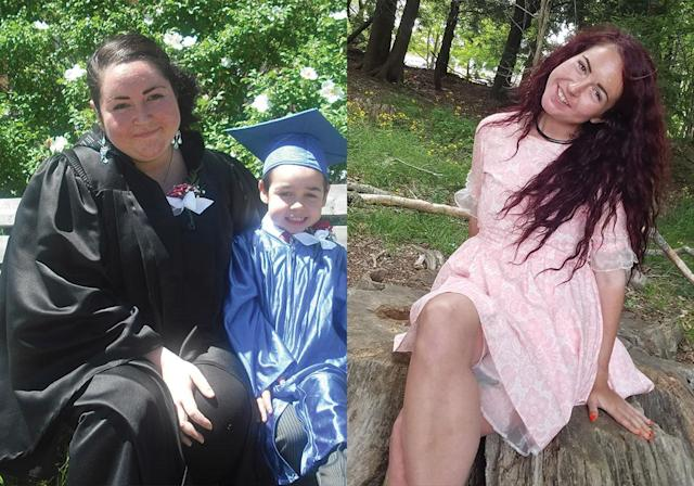 """""""I knew I wanted better for myself and my son."""" (Photo: Courtesy of Ashley Lavigne)"""