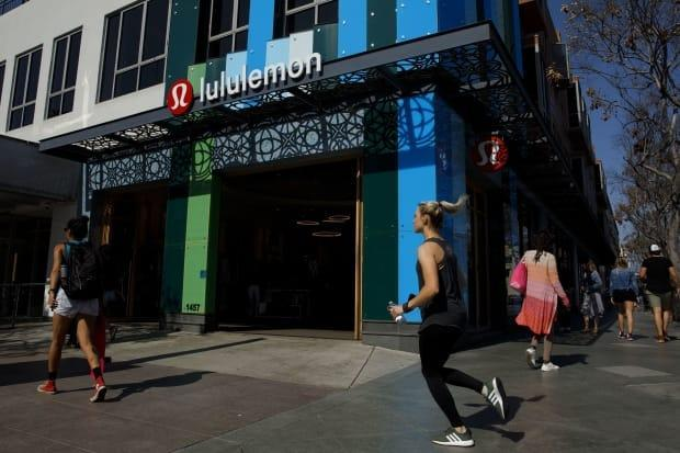 Lululemon has seen booming sales during the pandemic as millions of office workers found themselves working from home and in need of comfortable but stylish clothing. The Vancouver-based athleisure giant will be the exclusive supplier of Olympic-branded athletic apparel for the next four Olympic Games. (Patrick T. Fallon/Bloomberg - image credit)