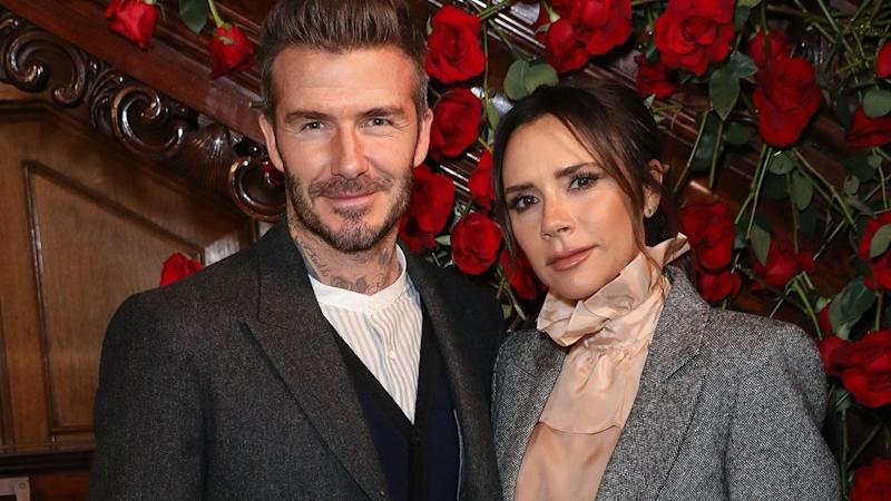David Beckham Catches Victoria Beckham Trying to Take the 'Perfect Selfie'