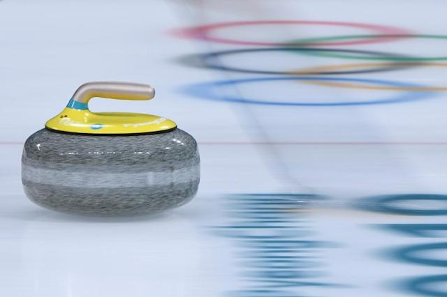 The World Curling Federation said it was aware of the situation, following Russian reports which named a Russian curler as being implicated (AFP Photo/WANG Zhao)