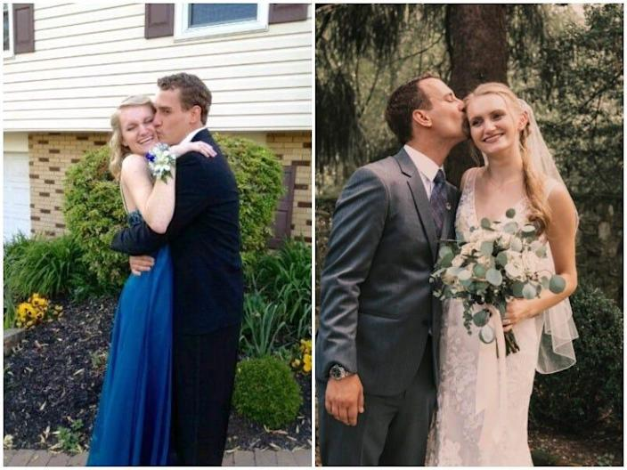 Prom versus wedding Taylor and Rob