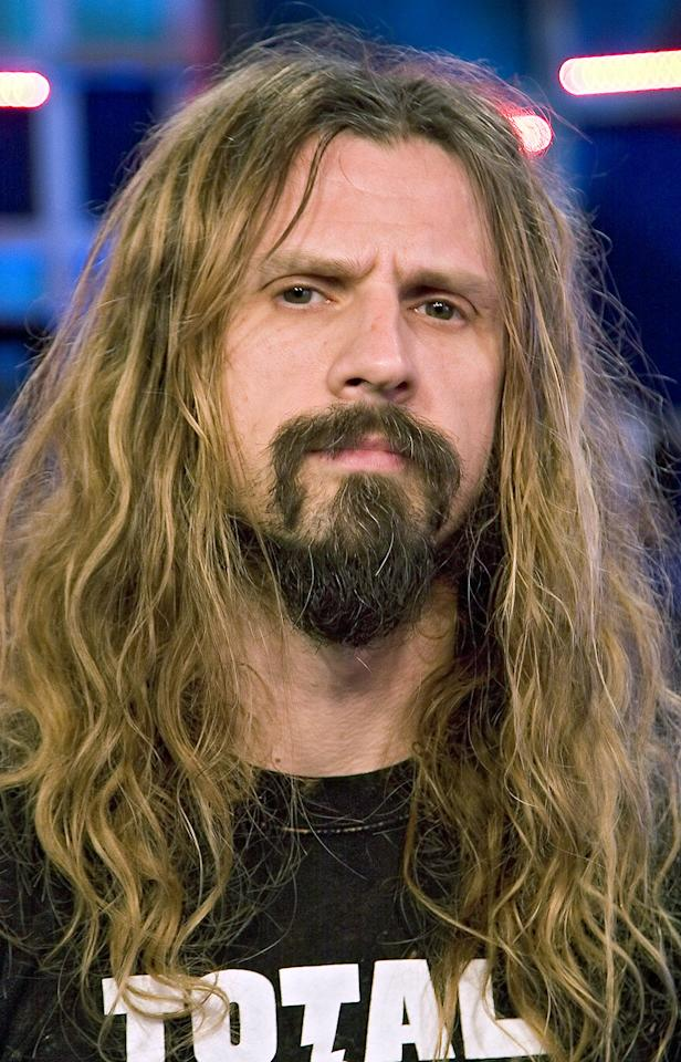 Whipping his long dreads around a cosmetically decomposing face, Rob Zombie was surely responsible for haunting many of MTV's younger viewers in the 90s. But the Grammy nominee is kind of a metal babe underneath the death face. And his hair au natural is almost, can we say, pretty?