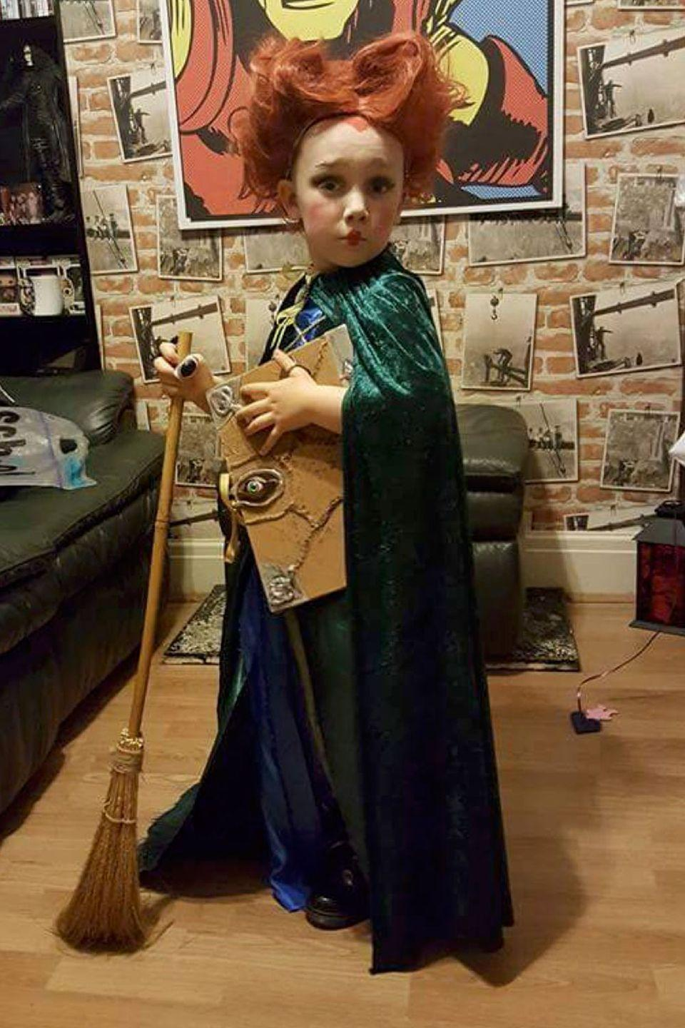 "<p>Did you really think we'd do a Halloween round-up without a <em>Hocus Pocus</em> costume? </p><p><strong>RELATED: </strong><a href=""https://www.goodhousekeeping.com/holidays/halloween-ideas/g28101282/hocus-pocus-costumes/"" rel=""nofollow noopener"" target=""_blank"" data-ylk=""slk:11 Best 'Hocus Pocus' Costumes Inspired by the Best Halloween Movie of All Time"" class=""link rapid-noclick-resp"">11 Best 'Hocus Pocus' Costumes Inspired by the Best Halloween Movie of All Time</a></p>"