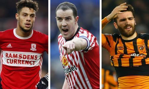 Sunderland, Hull and Middlesbrough struggle to adapt to life after relegation