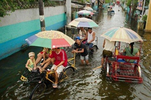 The most recent floods, which submerged 80 percent of Manila, killed 95 people, according to the government