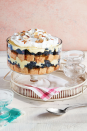 """<p>Classic trifles—layers of cake, fruit, and custard in a glass bowl—deserve more credit than they typically get these days. The only thing better than how impressive a trifle looks is how good it tastes. Our favorite trifle recipes have it all: smooth, creamy pudding, delightfully airy cake, fresh berries, and a whole lot of color. If you're still making up your mind about which <a href=""""https://www.countryliving.com/food-drinks/g1036/easy-christmas-desserts/"""" rel=""""nofollow noopener"""" target=""""_blank"""" data-ylk=""""slk:Christmas desserts"""" class=""""link rapid-noclick-resp"""">Christmas desserts</a> should get a spot on this year's dinner menu, might we suggest one of these multi-layered beauties? After all, you just can't go wrong with something as gorgeous as a trifle. These desserts are easy to make, fun to look at, and can feed a large crowd. What more could you ask for?</p><p>These recipes use different <a href=""""https://www.countryliving.com/food-drinks/g2806/best-christmas-cakes/"""" rel=""""nofollow noopener"""" target=""""_blank"""" data-ylk=""""slk:Christmas cakes"""" class=""""link rapid-noclick-resp"""">Christmas cakes</a> to layer in the trifle that pack some incredible flavors. Whether you opt for chocolate trifle recipe that'll appeal to even the most discerning sweet tooth or a classic English trifle with old-fashioned charm, there's at least one recipe on our list for you and your guests. We've got <a href=""""https://www.countryliving.com/food-drinks/g3604/gingerbread-cookie-recipes/"""" rel=""""nofollow noopener"""" target=""""_blank"""" data-ylk=""""slk:gingerbread cookie"""" class=""""link rapid-noclick-resp"""">gingerbread cookie</a> trifles with a crunchy, unexpected layered of chopped pecans, strawberry trifle recipes with refreshing cream (which, by the way, you can reuse for all your 4th of July parties come summer), and more seasonal peppermint trifles with pretty pink and red details. Whip up one of these crowd-pleasing recipes in no time for a hassle-free, showstopping sweet treat—just don't be surprised """