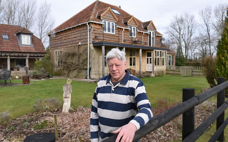 Julian Chard estimates he has overpaid £25,000 of interest on his £1.5m home - COPYRIGHT JAY WILLIAMS