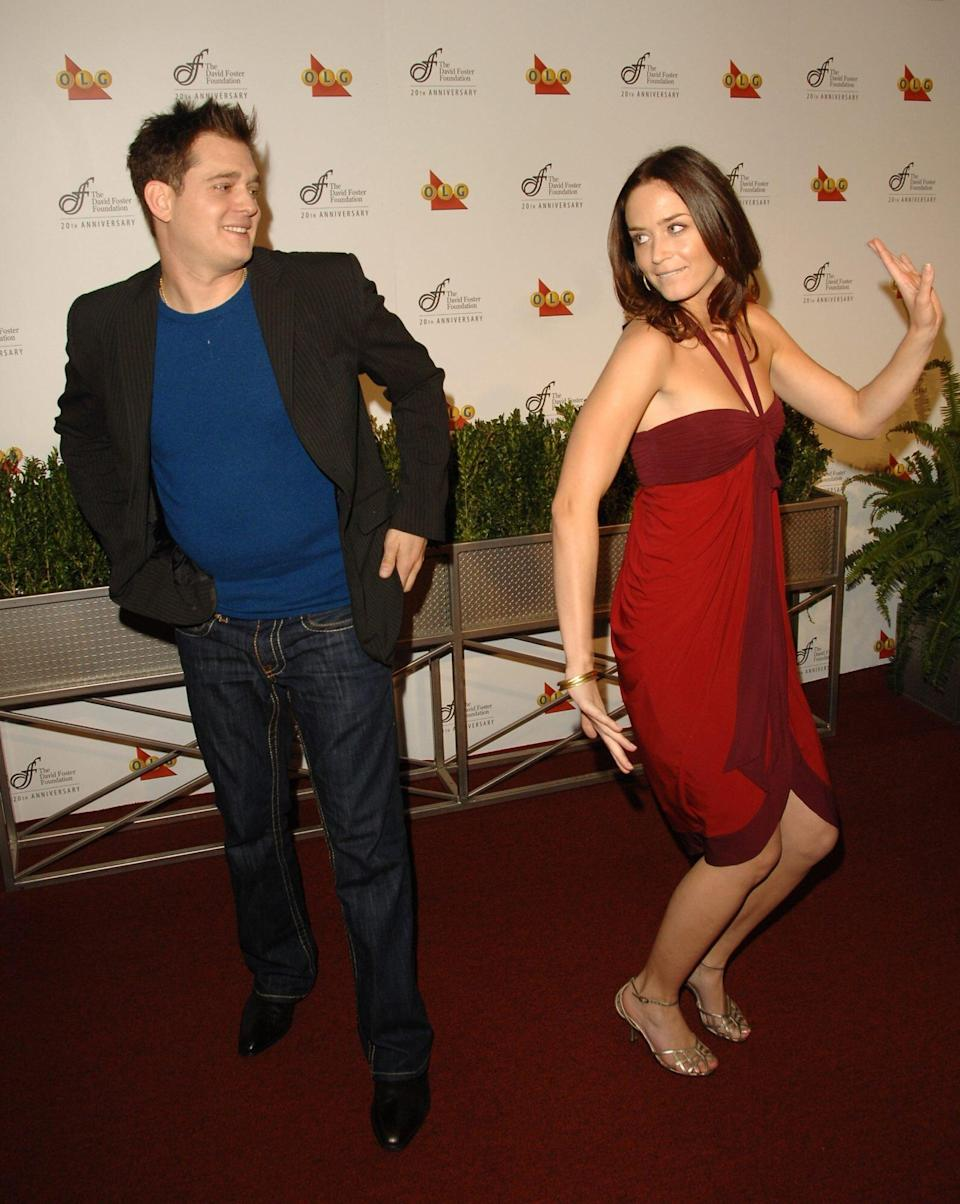 TBT: Emily Blunt and Michael Bublé