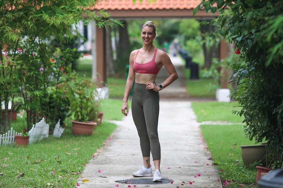 Amanda Dale is a personal trainer and nutrition coach. (PHOTO: Cheryl Tay)
