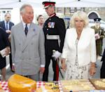 "<p>All these photos? They're from royally arranged and sanctioned events, making all of this public eating kosher. But if anyone tries to hand Meghan, say, a congratulatory cake while she's walking <em>into </em>one of the events, she's not gonna <a href=""https://doyouremember.com/55808/royal-etiquette-40-strict-rules-royal-family-follow/5"" rel=""nofollow noopener"" target=""_blank"" data-ylk=""slk:eat"" class=""link rapid-noclick-resp"">eat</a> that. </p>"