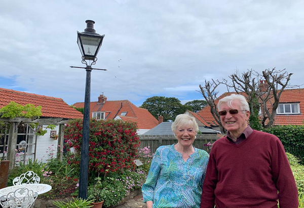 Mr and Mrs Machin say they have no intention of stopping their fundraising