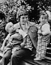 """<p>Farrow with her twin sons in 1971. The actress went on to become a mother of 14 children, four biological and ten adopted, though <a href=""""https://people.com/celebrity/mia-farrows-children-where-are-they-now/"""" rel=""""nofollow noopener"""" target=""""_blank"""" data-ylk=""""slk:she has sadly lost three of her adopted children"""" class=""""link rapid-noclick-resp"""">she has sadly lost three of her adopted children</a>. </p>"""