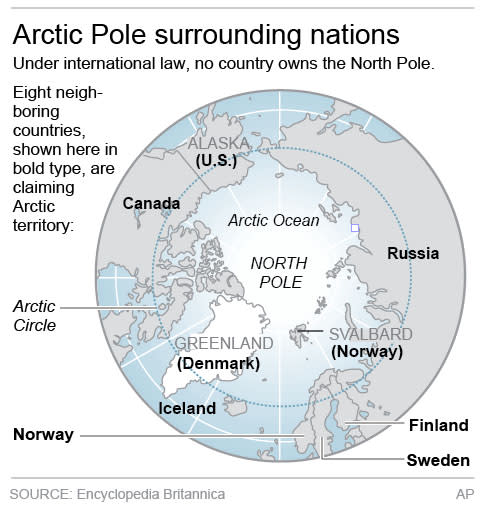 Icy Arctic rising as economic, security hot spot