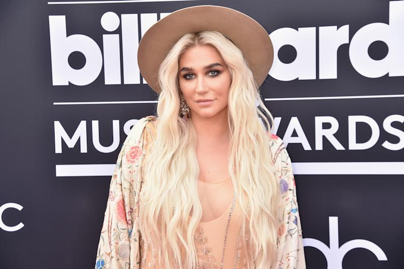 Kesha pictured at the 2018 Billboard Music Awards. Photo: Getty