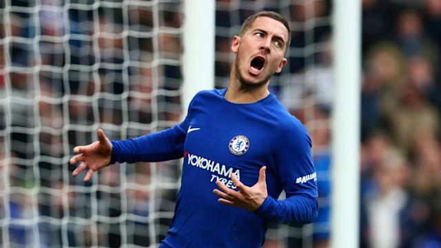 Eden Hazard Chelsea Newcastle United 02122017