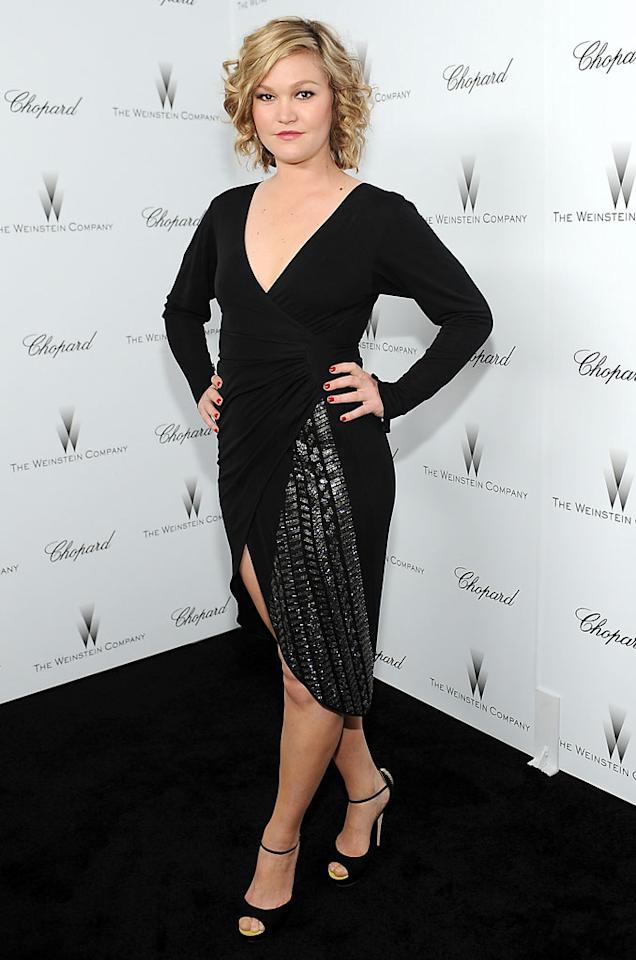 Julia Stiles attends The Weinstein Company Academy Award Party hosted by Chopard at Soho House on February 23, 2013 in West Hollywood, California.