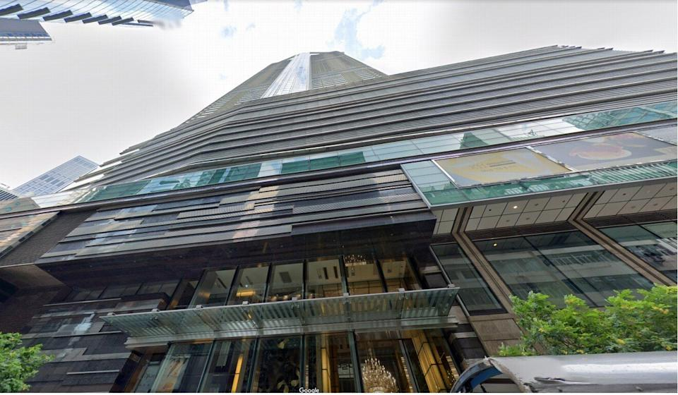 The alleged operator of the racket had rented the penthouse of The Masterpiece in Tsim Sha Tsui. Photo: Google