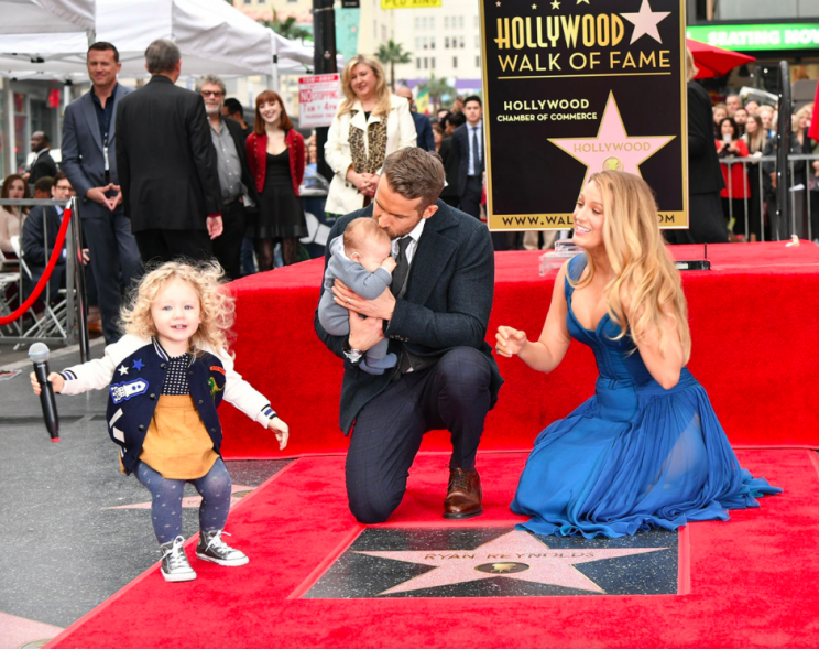 Ryan Reynolds speaking about taking his kids on a plane is all parents [Photo: Rex]