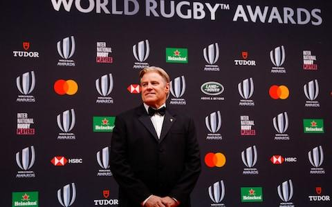 World Rugby CEO Brett Gosper - Credit: EPA-EFE/REX
