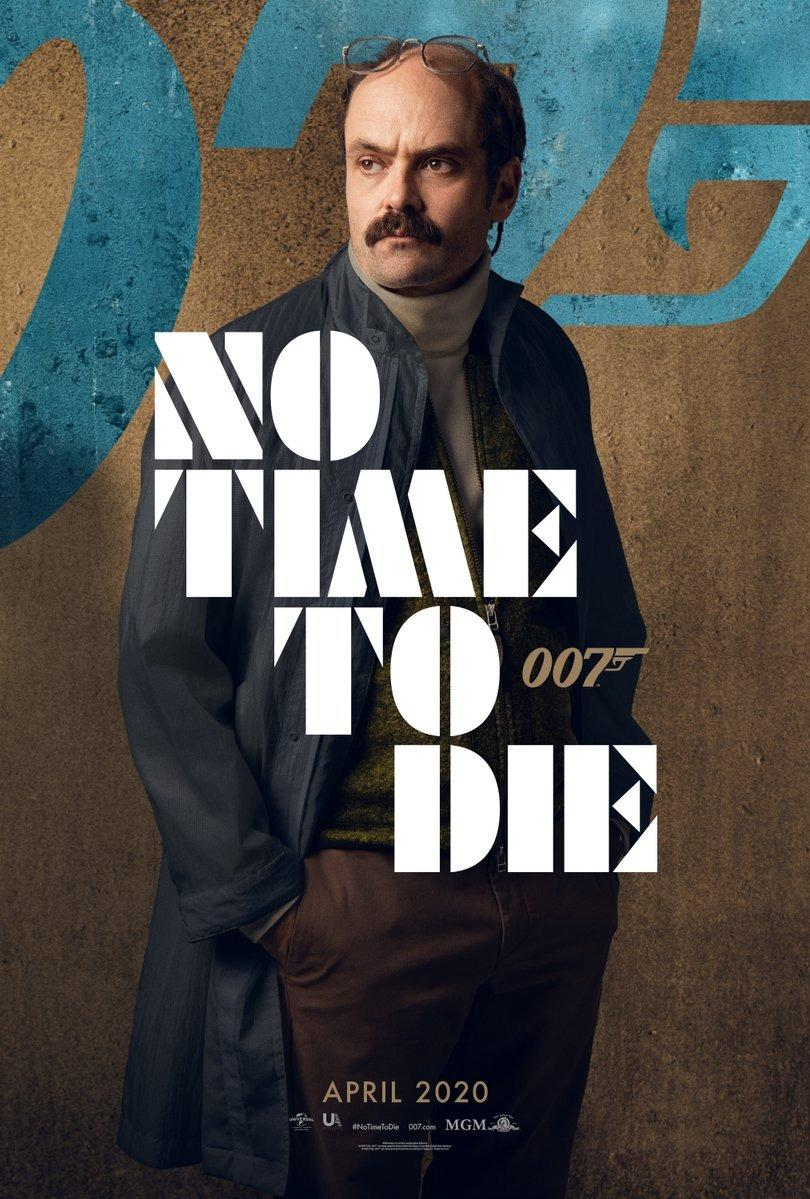 <em>Tinker Tailor Soldier Spy</em> star David Dencik is Valdo Obruchev in <em>No Time To Die</em>. Very little is known about his character, or how he fits into the story. (Universal/MGM/Eon)