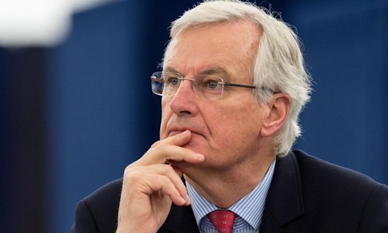 Michel Barnier, chief negotiator for the European Union,